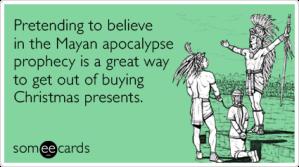 mayan christmas 2
