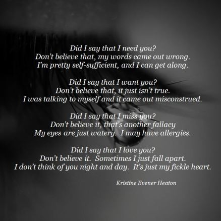 Fickle Heart